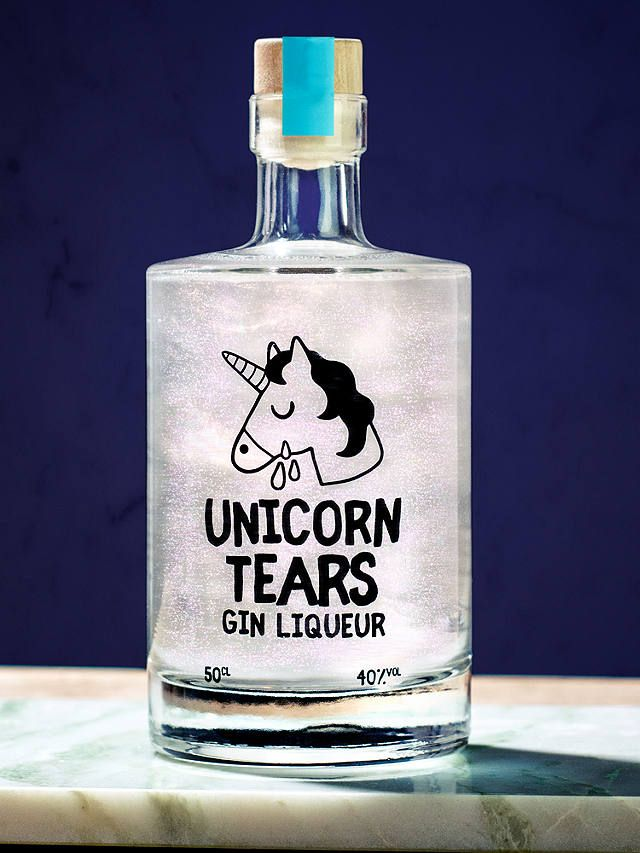 Firebox Unicorn Tears Gin Liqueur 50cl Unicorn Tears Gin Gin