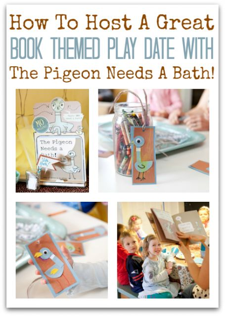 How To Host A Book Themed Play Date