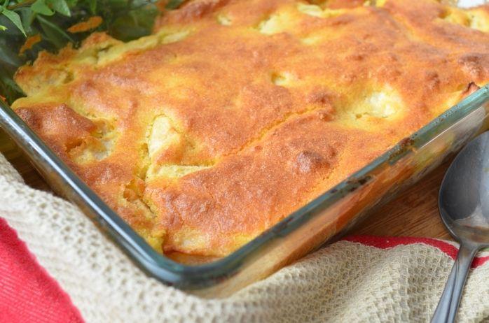 Блюда из кукурузной муки: от оладий до запеканки | Яблочная запеканка с полентой | Летидор