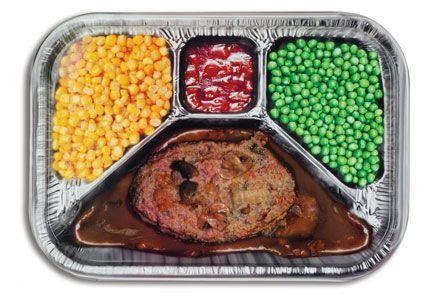 ИДЕЯ - можно готовить такие ОБЕДЫ герметично упакованные   Многогранная тарелка для обеда TV Dinner Serving Tray