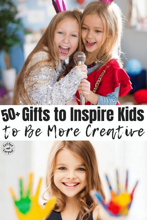 Best Gifts To Inspire Kids To Be More Creative Creativekids Encouragekidstobecreative Giftsforkids Creativegifts Coffeeandcarpool Holidaygiftsforkids