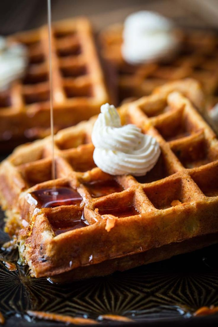 Blog post at Healthy Seasonal Recipes : These Carrot Cake Waffles are a cross between a hearty, wholesome whole-wheat waffle and a slice of carrot cake. Read on to grab the easy re[..]