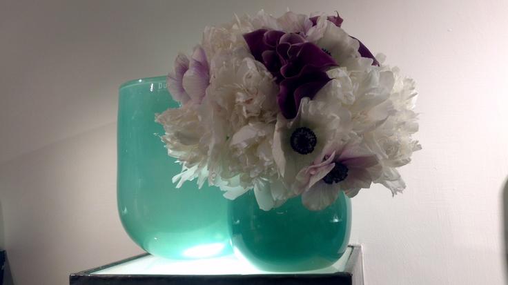 Winter flowers as bride bouquet