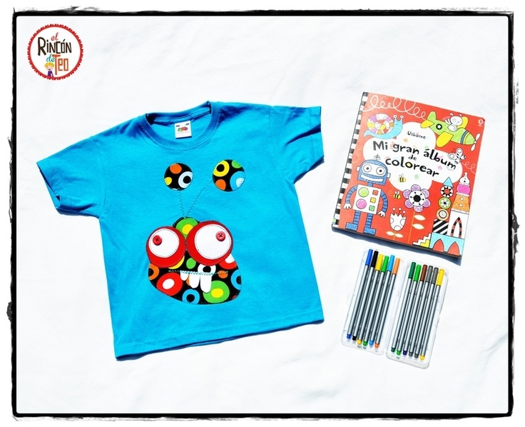 El Rincon de Teo — Camiseta Loko Monster Turqueza