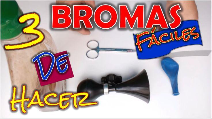 3 bromas fáciles de hacer - 3 easy to make jokes #bromas #ideas #pranks #funny #lol #epic #lol