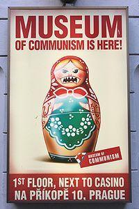 Museum of communism, Prague, Czech Republic