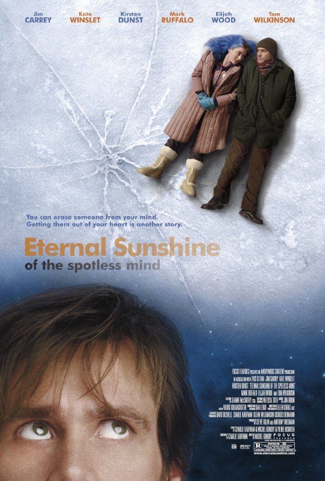 Eternal Sunshine of the Spotless Mind (2004) by Michel Gondry with Kate Winslet, Jim Carrey, Kirsten Dunst, Mark Ruffalo..
