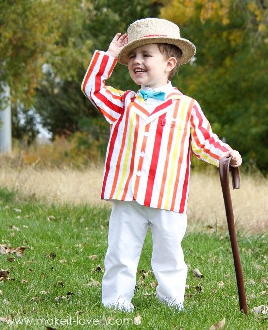diy bert costume from mary poppins dress up ideas and. Black Bedroom Furniture Sets. Home Design Ideas