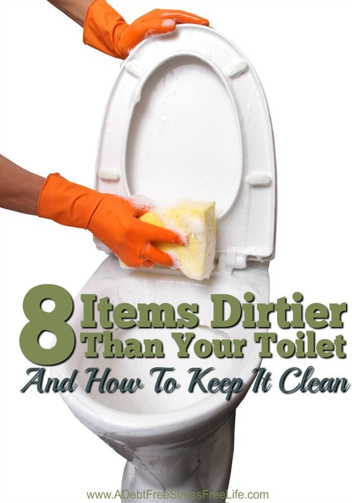 Everyday items dirtier than your toilet and you use these things all the time?  Find out what they are and how to keep them clean with these cleaning solutions.