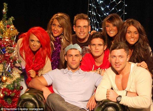 Charlotte Crosby shares season one cast G Shore throwback snap