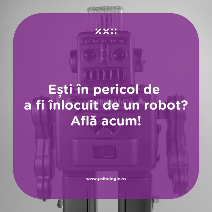 Pare desprins din science fiction: un om să fie înlocuit de un robot? Accesează linkul http://on.fb.me/1bluAyj și citește articolul nostru pentru a afla ce trebuie să faci pentru a fi un angajat de neînlocuit. Și dacă nu vei ajunge să ai locul de muncă pus în pericol de un robot, tot vei învață, citind acest articol, ce trebuie să faci pentru a deveni un expert în domeniul tău.