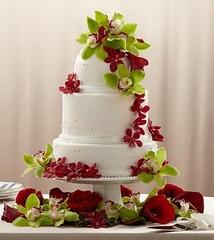 Elegant Orchid Cake Décor ... $344