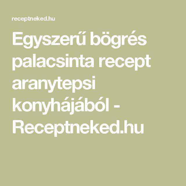 Egyszerű bögrés palacsinta recept aranytepsi konyhájából - Receptneked.hu