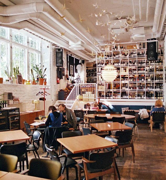 Sfaar cafe-boutique in Tallinn, Estonia