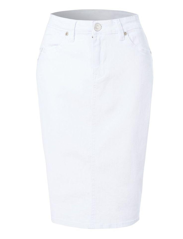17 Best ideas about High Waisted Denim Skirt on Pinterest | Jeans ...