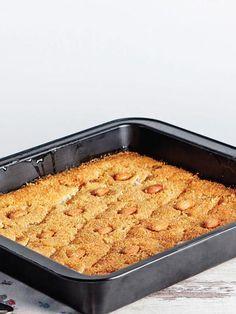 Fırında irmik tatlısı Tarifi - Tatlı Tarifleri Yemekleri - Yemek Tarifleri