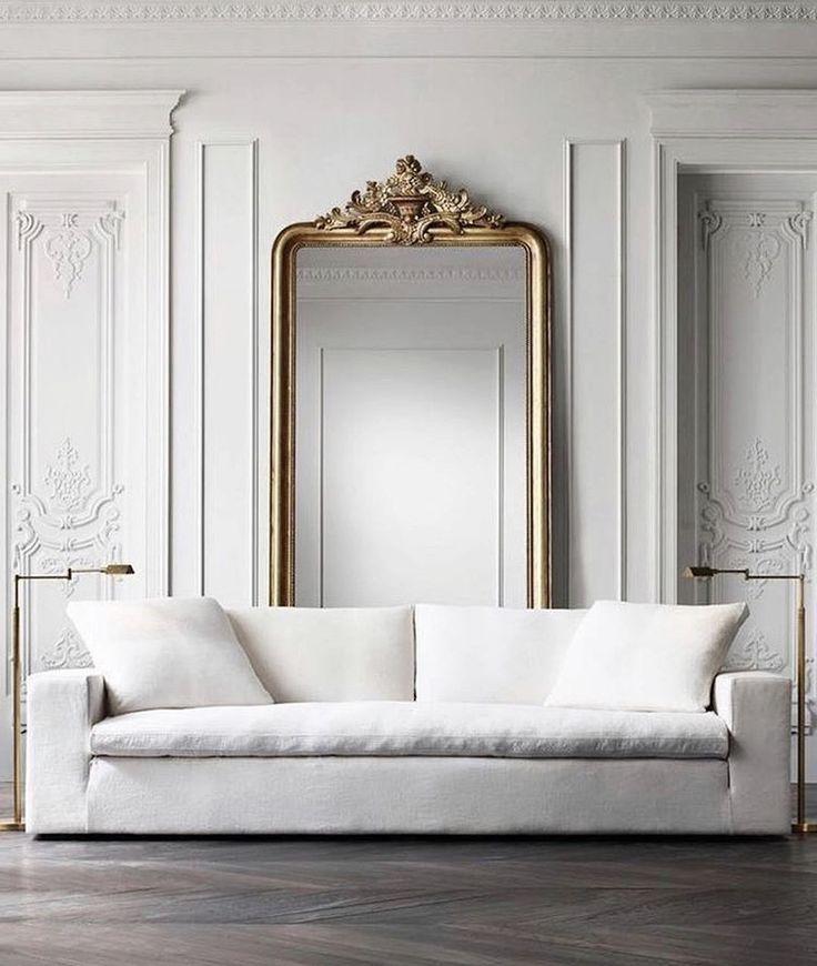 White Sofa Style Home House Interior Modern Interior Design Interior