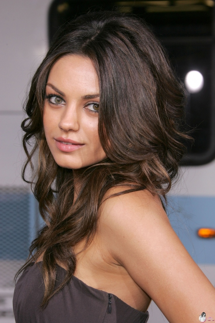 mila kunis her hair people pinterest. Black Bedroom Furniture Sets. Home Design Ideas