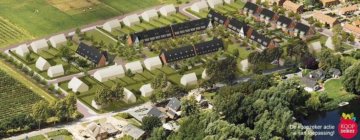 #Deest - De Gaarden Kavels - Ruim wonen in een waterrijke omgeving. #bouwfonds #nieuwbouw #ruimwonen