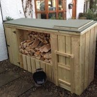 Log Store,Coal Bunker & Shed | Richmond Garden Centre