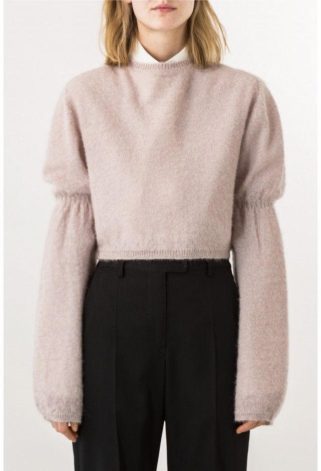 LEMAIRE Long puff-sleeves sweater