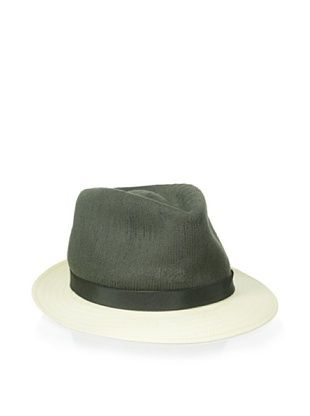 68% OFF Kangol Luxe Men's Connect Arnold (Kelp/ White Brim)