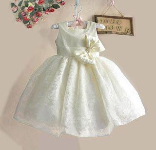 momsneed'shop: dress anak murah - zoe pearl ribbon cream