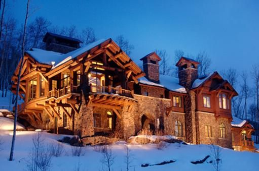 Custom ski in and ski out mountain residence beaver for Custom mountain homes