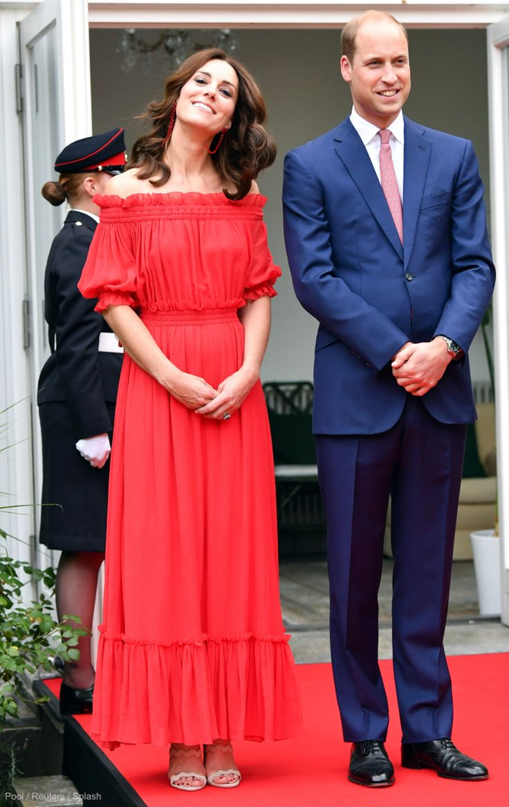 William & Kate attend their second Garden Party of the week! · Kate Middleton Style Blog