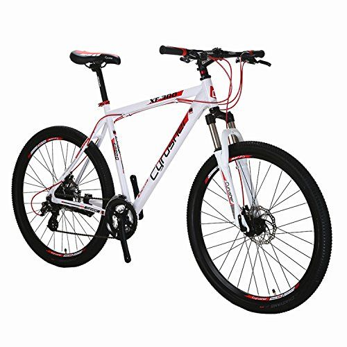 Cyrusher XF300 27.5 Hardtail Mountain Bike MTB Shimano 24 Speed 19 Frame Aluminum Frame Quick Release Wheels Dual Disc Brakes Suspension Fork White Red https://mountainbikeusa.co/cyrusher-xf300-27-5-hardtail-mountain-bike-mtb-shimano-24-speed-19-frame-aluminum-frame-quick-release-wheels-dual-disc-brakes-suspension-fork-white-red/