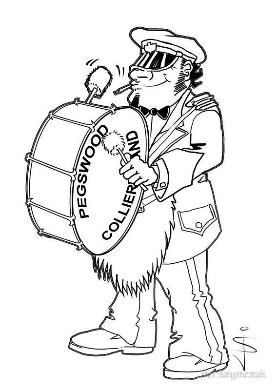 Brass Band - Big Drum by Jan Szymczuk