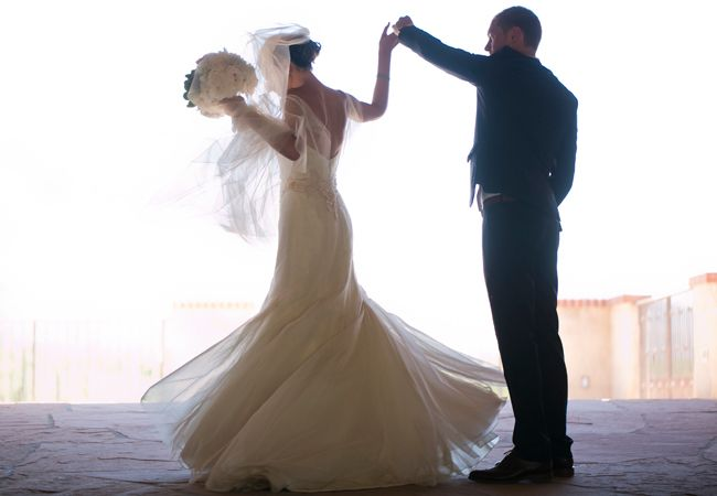 Bride & groom portrait  // Mel Barlow & Co