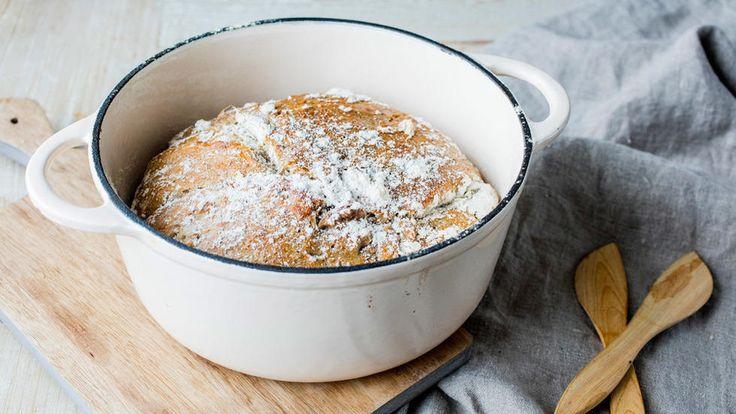 Grytebrød med rosmarin og sitron