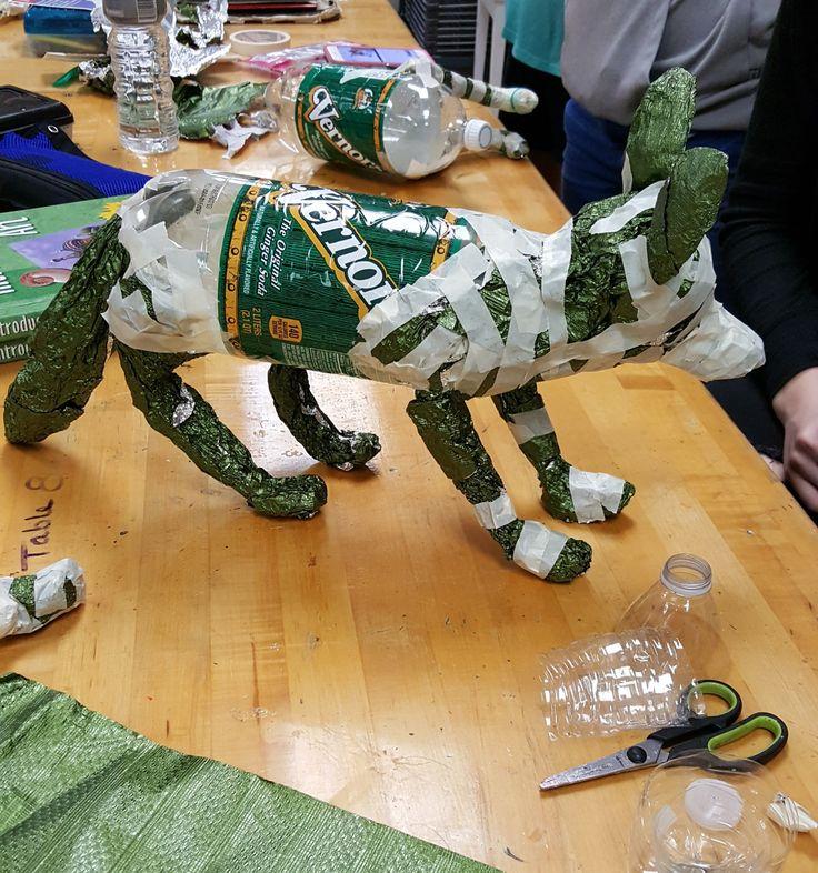 Paper mache next..Fox Art ed central 8th grade