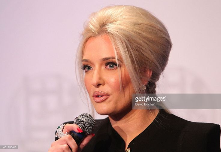 Erika Jayne attends Gloria Allred and Erika Jayne Honored by LGBTs In The News at Los Angeles Press Club on January 22, 2015 in Los Angeles, California.