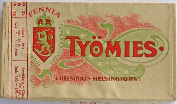 Finnish workingman's tobacco