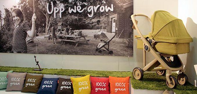Produtos eco-friendly vem ganhando cada vez mais espaço no mercado materno e infantil. A inovação da vez é o carrinho holandês GreenTom Upp. Sua produção é 100% verde, ele é todo feito de plástico reciclado.