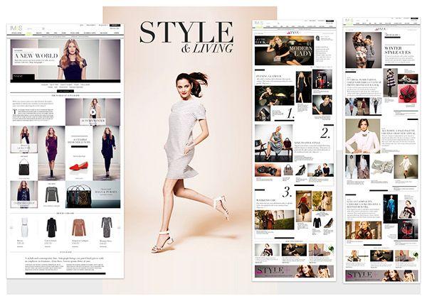 M&S.com - Marks & Spencer online portfolio on Behance
