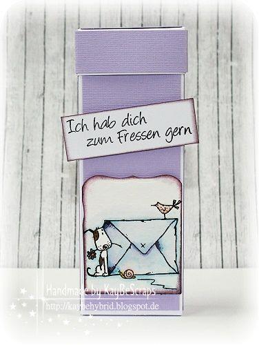 KayBeScraps: SchokoSticks Box..