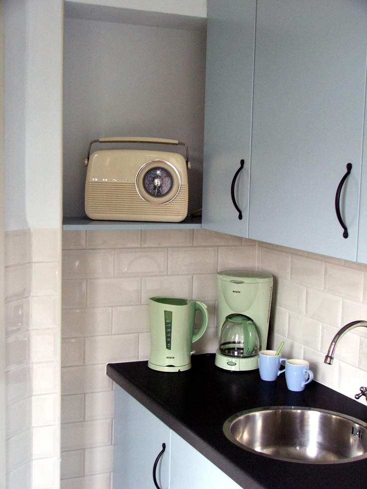 This is my fifties inspired kitchen