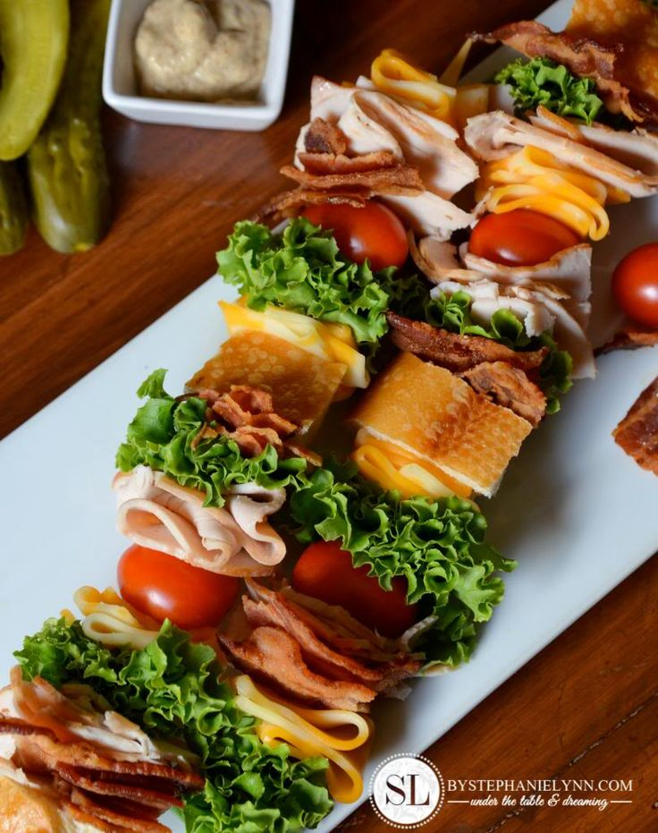Sandwiches On A Stick -- Love this!! Sargento Take a Real Lunch Classic Club Sandwich on a Stick