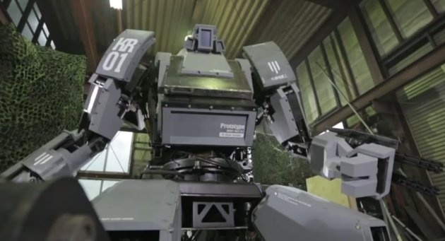 Real robots!!