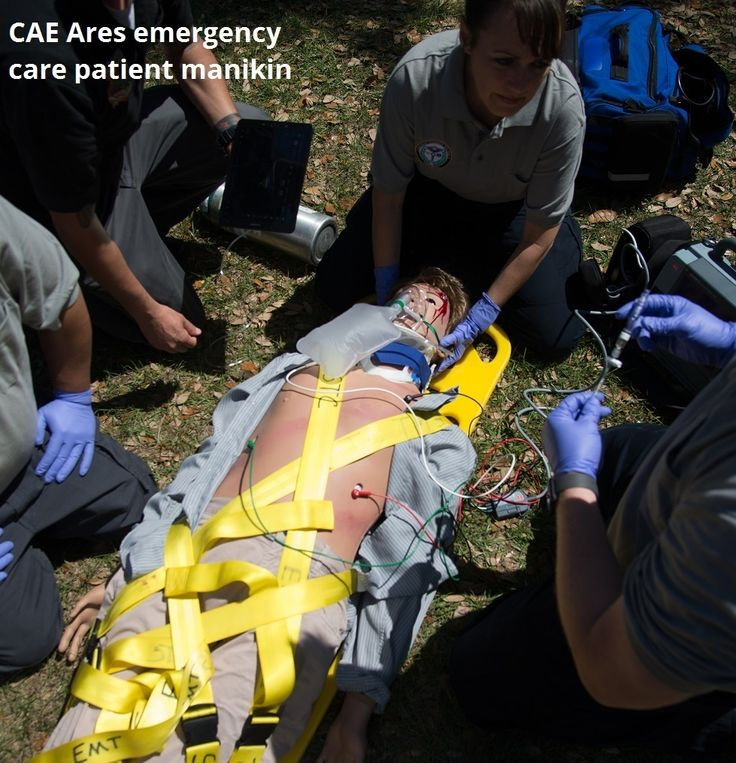 CAE Ares Emergency Care Manikin for EMS/ALS Training EMS