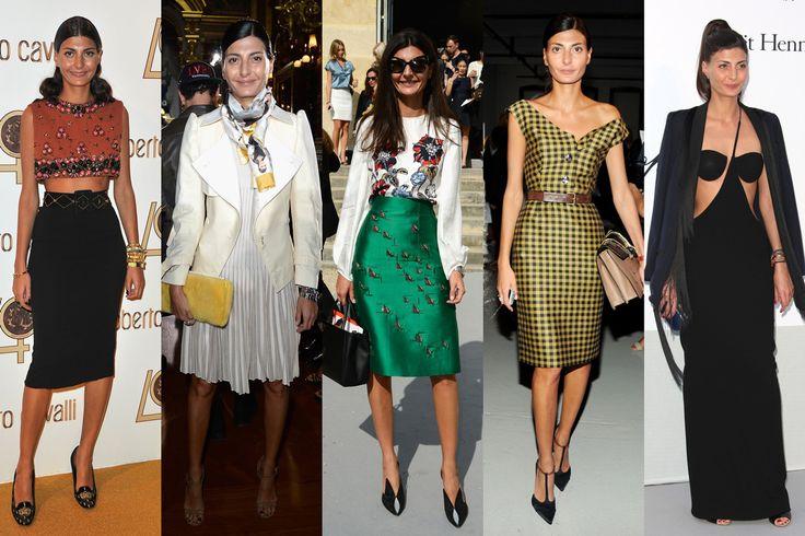 Giovanna Battaglia (aka Bat Gio) is a model-turned editor at L'uomo Vogue