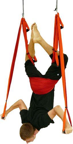 Yoga Inversion Swing *YOGA TRAPEZE* Wow! WANT IT!