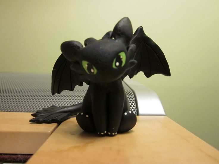 toothless clay dragon - Google Search