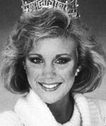 Susan Akin (Mississippi) Miss America 1986    In the past, Susan traveled extensively with Bob Hope, performing at conventions both in Las Vegas and Atlantic City. Susan remains politically active and has been the spokesperson for the National Down's Syndrome Association and for seatbelt safety, addressing many state legislative and advocacy groups.