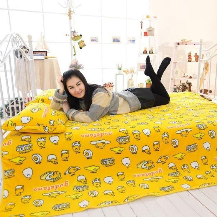 Купить товарМультфильм желток брат, Gudetama, Ленивый яйцо фланелевые одеяла, Кондиционер одеяло, Подарки на день рождения, Рождественские подарки в категории Одеялана AliExpress.                       Пожалуйста, обратите внимание на новые правила                              1. З