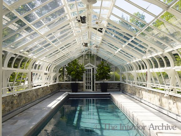 1000 images about backyard on pinterest terraced garden for Pool inside greenhouse