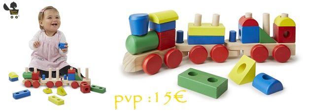 #Jugueteseducativos de madera para los más #peques.